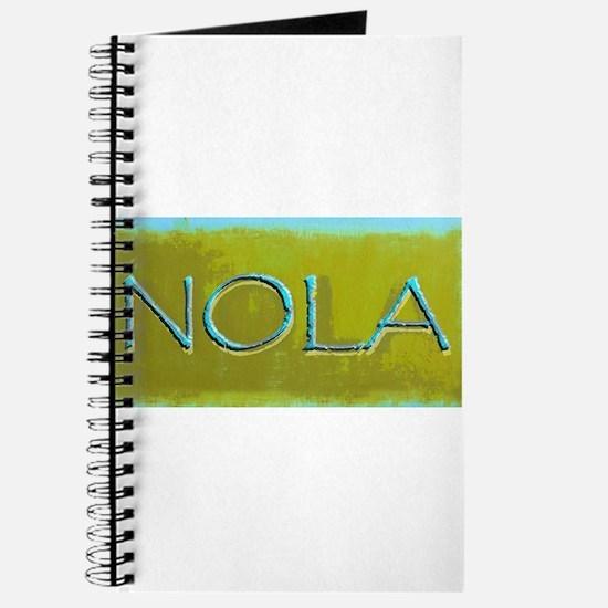 NOLA OLIVE TURQ Journal