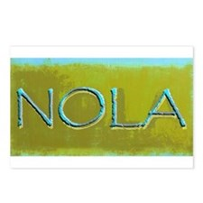 NOLA OLIVE TURQ Postcards (Package of 8)