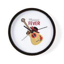 Flamenco Fever Wall Clock
