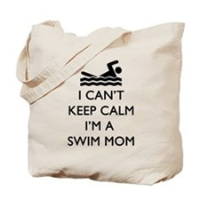 Keep Calm Swim Mom Tote Bag