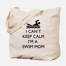 Keep Calm Swim Mom Tote Bag