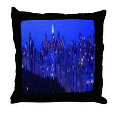 Central Park New York Throw Pillow