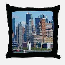 Midtown Manhattan Throw Pillow