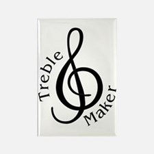 Treble Maker Rectangle Magnet (10 pack)