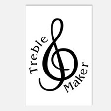 Treble Maker Postcards (Package of 8)