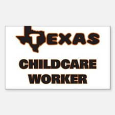 Texas Childcare Worker Decal