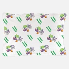 Cute Happy Camper Mouse Pattern Pillow Case