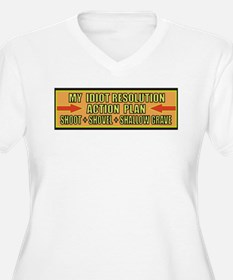 Action Plan Plus Size T-Shirt