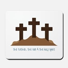The Holy Spirit Mousepad