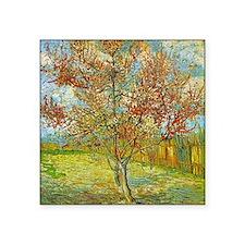 Peach Tree in Blossom Sticker