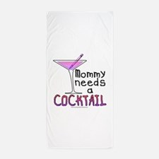 Mommy needs a COCKTAIL Beach Towel