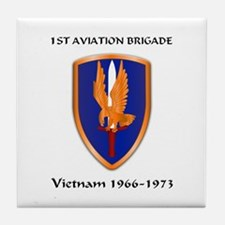 1st Aviation Brigade Tile Coaster