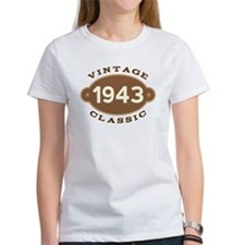 1943 Birth Year Birthday Tee