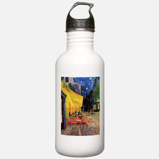 Van Gogh, Cafe Terrace Water Bottle