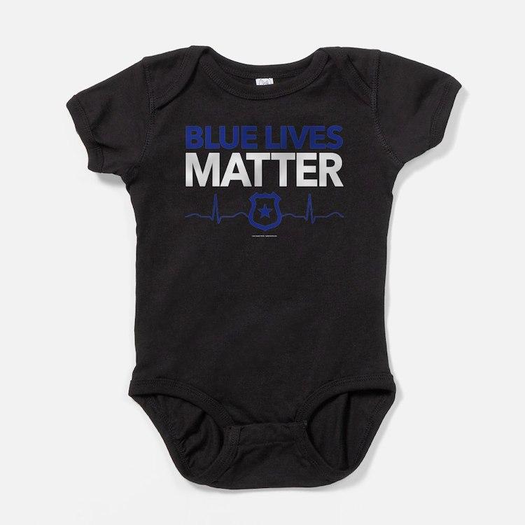 Blue Lives Matter Baby Bodysuit