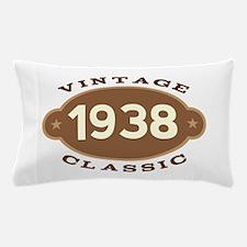 1938 Birth Year Birthday Pillow Case