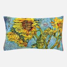 Cute Sunflower Sonatina Art Pillow Case