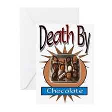 Death By Chocolate Greeting Cards (Pk of 10)