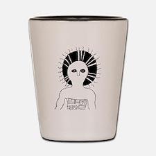Sun shaman Shot Glass