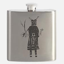 Cute Shaman Flask