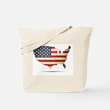 Flag USA Tote Bag