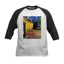 Cafe Terrace at Night by Vincent v Baseball Jersey