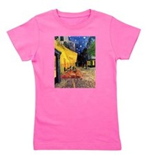 Van Gogh, Cafe Terrace at Night Girl's Tee