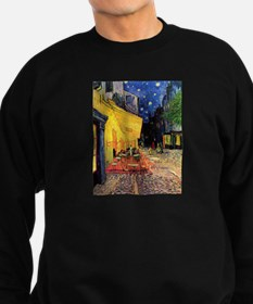 Van Gogh, Cafe Terrace at Night Sweatshirt