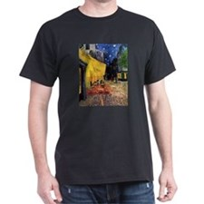 Cafe Terrace at Night by Vincent van Gogh T-Shirt