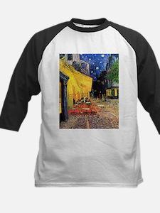 Van Gogh, Cafe Terrace at Night Baseball Jersey