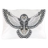Snowy owls Pillow Cases