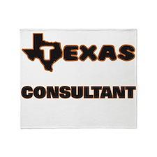 Texas Consultant Throw Blanket