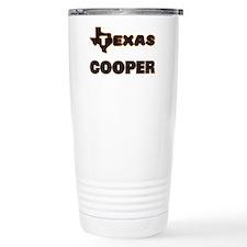 Texas Cooper Travel Coffee Mug