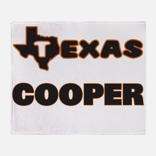 Texas Cooper Throw Blanket