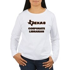 Texas Corporate Librarian Long Sleeve T-Shirt