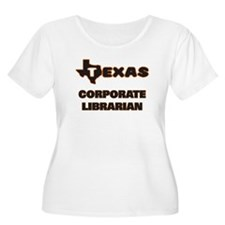 Texas Corporate Librarian Plus Size T-Shirt