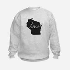 Love Wisconsin Sweatshirt