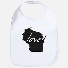 Love Wisconsin Bib