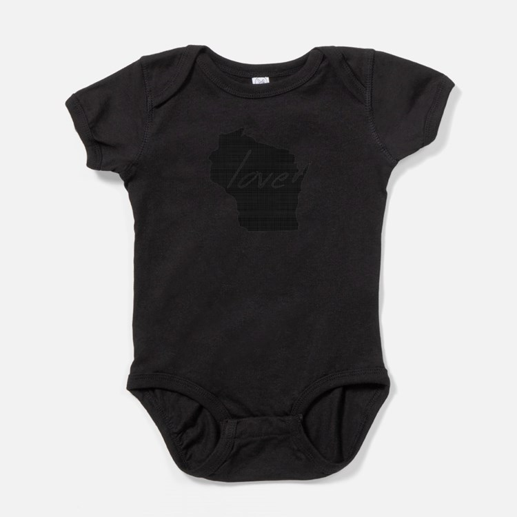 Love Wisconsin Baby Bodysuit