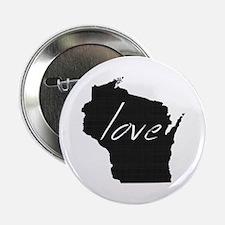 "Love Wisconsin 2.25"" Button"