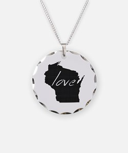 Love Wisconsin Necklace