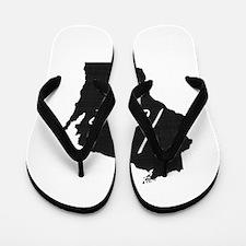 Love Wisconsin Flip Flops