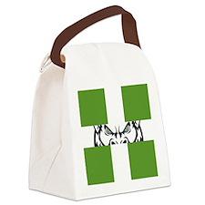Green GFC Flag Canvas Lunch Bag