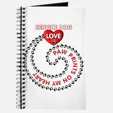 SERVICE DOG LOVE Journal