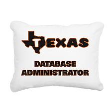 Texas Database Administr Rectangular Canvas Pillow