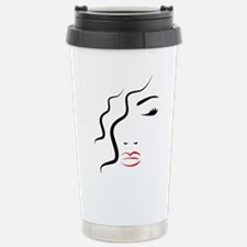 Woman Art Travel Mug