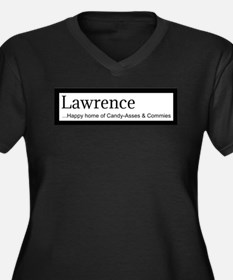 Lawrence Candy Asses & Commies Plus Size T-Shirt