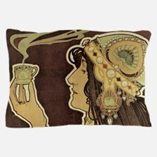 Vintage Cafe Rajah Pillow Case