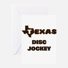 Texas Disc Jockey Greeting Cards