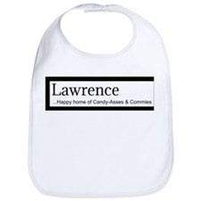 Lawrence Candy Asses & Commies Bib